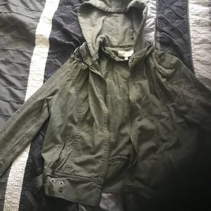 Jackets & Blazers - Olive green jacket